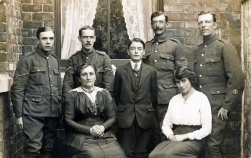 F013 Royal Field Artillery and family