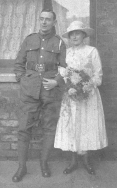 F024 Unnamed soldier and bride
