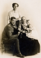 F091 Marie, Ernest, Royal Artillery, Alfred and mother