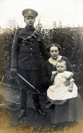 F065 Royal Artillery, wife and child