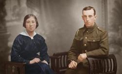 F058 John and Hannah McDonald of Heywood, Lancashire