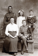 F114 Royal Army Veterinary Corps and family.jpg