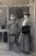F152 Royal Artillery and wife. Courtesy of The Somersets.