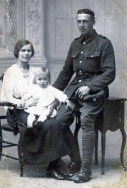 F089 Unnamed soldier, Army Service Corps, and family