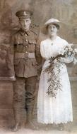 F115 Unnamed wedding couple, Lancashire Fusiliers.jpg