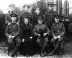 F004 East Lancashire Regiment group
