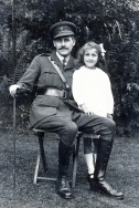 F45 Cecil Greet, Royal Engineers, and daughter
