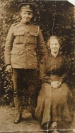 F156 Lance Corporal. 10105 Alf Bruce, Gloucesterhire Regiment and May Hughes. Courtesy of Paul Hughes.