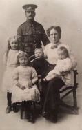 F159 Serjeant Thomas Hughes, Royal Warwickshire Regiment. Son of James and Sarah Hughes. Courtesy of Paul Hughes.