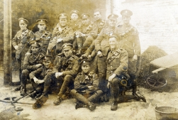 G022 Royal Engineers, 'The Vine' stables, Retford, October 1917