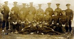 G031 Senior NCOs, Royal Army Medical Corps, Lines Camp, Kent