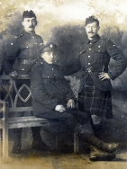 G089 Unnamed soldiers, Seaforth Highlanders and Army Service Corps