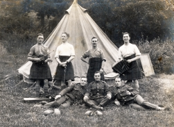 G090 Cameronians, Germany