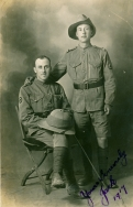 G483 Jack and pal, Salonika, 1917.