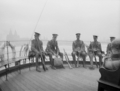 G495 King's Liverpool Regiment group, Mersey Ferry. Courtesy of AngelJCake.