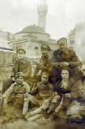 G037 Royal Army Medical Corps and children, Turkey