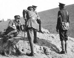 G061 Major Arnott, Captain Wayman, Captain Bostock, 14th Btn Northumberland Fusiliers