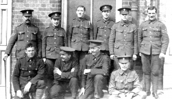 G064 Northumberland Fusiliers, clerical staff and orderlies, A Coy, 14th Battalion
