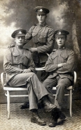 G076 Cheshire Regiment, including Private Stone, France