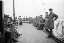 G494 King's Liverpool Regiment group, Mersey Ferry. Courtesy of AngelJCake.