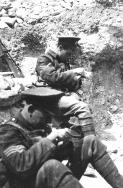 B006 Lance Corporal Ellis, Sgt. Grace,14th Battalion, Northumberland Fusiliers