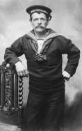 B022 Unnamed seaman, Royal Naval Reserve