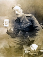 B031 Unnamed soldier, 1914 trench