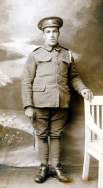 B033 Unnamed soldier, Army Service Corps