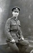 B034 Unnamed soldier, Army Service Corps, Edinburgh studio