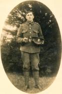 B045 Unnamed soldier, Irish Regiment, Belfast studio