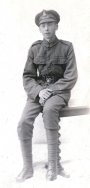 B048 Unnamed soldier, London Rifle Battalion, St Alban's studio