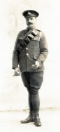 B058 Unnamed soldier, Royal Field Artillery, Dundee studio