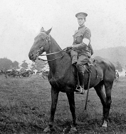 B060 Unnamed soldier on horse back, Royal Field Artillery