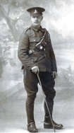 B070 Unnamed soldier, Royal Field Artillery, Manchester studio