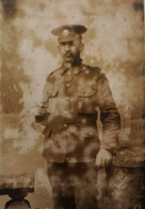 b352 Lance Corporal Fred Breslin, 13th Battalion, Cheshire Regiment, Ecoiveres. Courtesy of Daisy.
