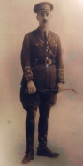 B362 Lieutenant Colonel William Wistance, DSO MC, 5th Battalion, South Staffordshire Regiment, killed 25 April 1918. Courtesy of Paul Hughes.
