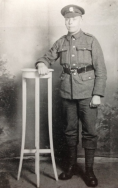 B359 Leonard Moseley, 2nd Battalion. Hampshire Regiment. killed 6 May 1918, aged 22. Courtesy of Paul Hughes.