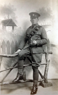B334 Unnamed soldier, Army Service Corps. Courtesy of Paul Hughes.