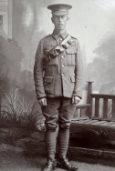 B355 Alfred Wonnacot, Royal Field Artillery and Royal Engineers. Courtesy of Sandra Gittins.