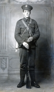 B029 Unnamed soldier, 13th Battalion, Somerset Light Infantry, Leighton Buzzard