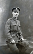 B034 Unnamed soldier, Army Service Corps, Edinburgh studio