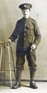 B035 Unnamed soldier, Army Service Corps, Woolwich or Aldershot studio
