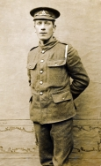 B067 Unnamed soldier, Royal Artillery, Buxton studio
