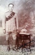 B329 Driver Smith, 102 Battery, Royal Field Artillery, India. Courtesy of Paul Hughes.