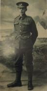 B349 Private 40866 John Shere, Royal Warwickshire Regiment. Courtesy of Paul Hughes.