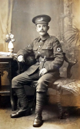 B326 Unnamed soldier, Royal Army Medical Corps, 5 May 1917, DURA Studio. Courtesy of Paul Hughes.