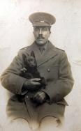 B332 Unnamed officer, Devonshire Regiment. Courtesy of Paul Hughes.
