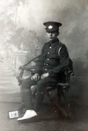B333 Unnamed soldier. Courtesy of Paul Hughes.