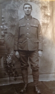 B342 Unnamed soldier, pioneer battalion. Courtesy of Paul Hughes.