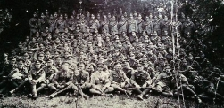 U103 B Battery, 87 Brigade Royal Field Artillery 1915 after Battle of the Aisne. Courtesy of EOEJMBE.